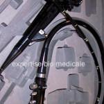 bronchoscope vue avec valise