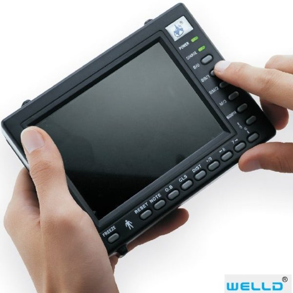 Utilisation clavier de l' échographe Wed-2000