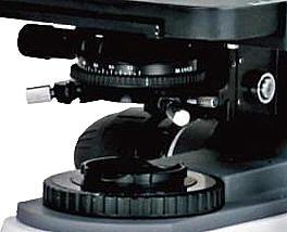 Illuminateur et plateau d'un microscope novel 300 m