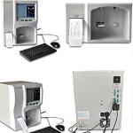 Analyseur hematologique vue des differents capteurs