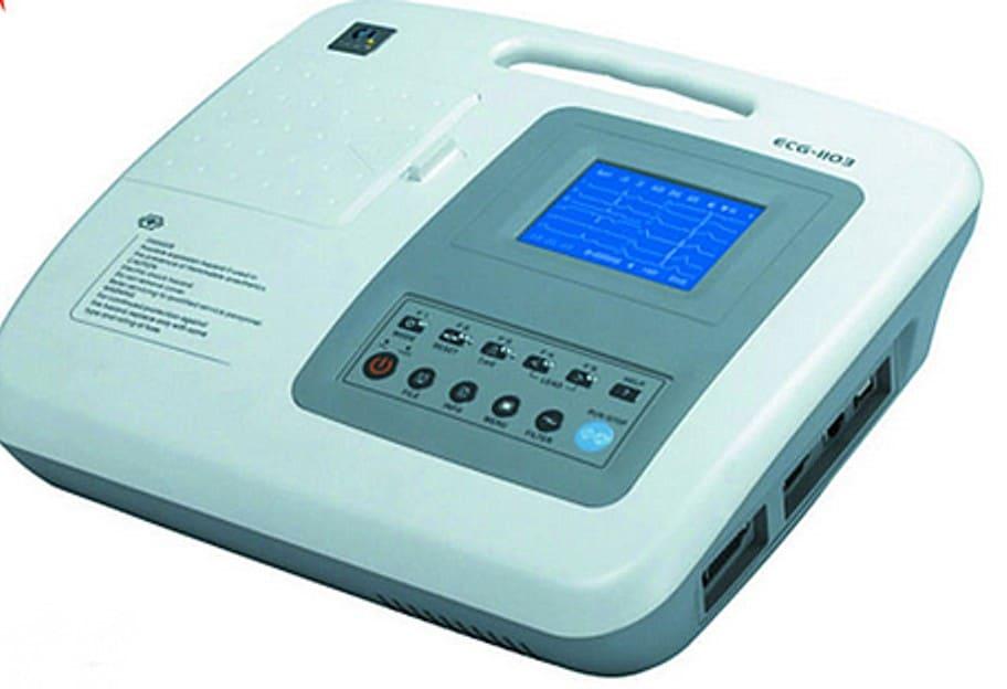 ECG electrogradiographe portable 3 pistes 1103 G