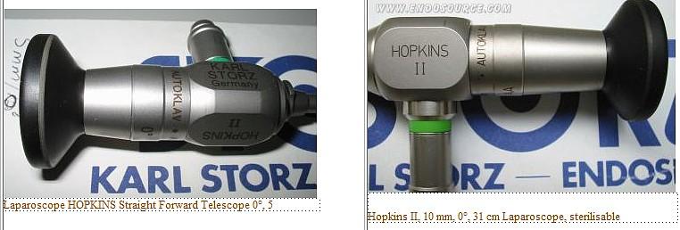 endoscope rigide Hopkins II