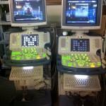 Deux echographes Toshiba xario