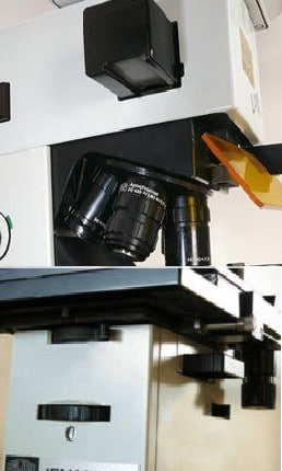 Microscope a epi fluorescence Zeiss-Jenamed