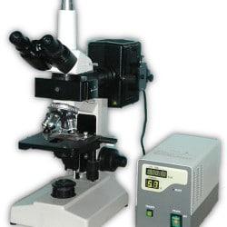microscope a epi fluorescence modèle PW