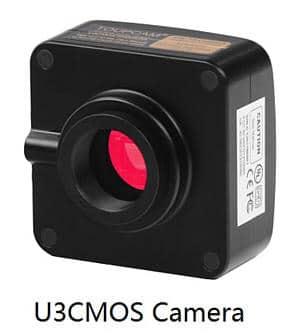 Capteur de la camera 3 mega pour microscope