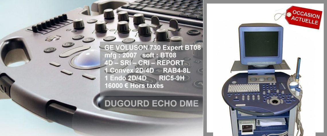 echographe-voluson-expert échographe Ge electric volumique 4D