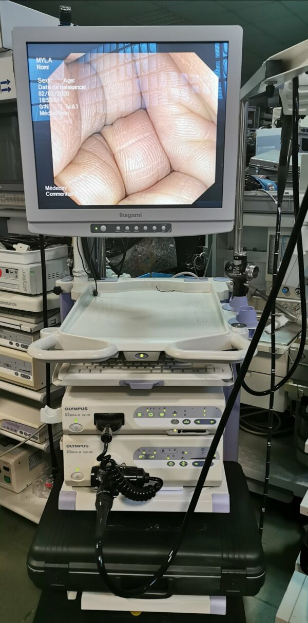 Colonne endoscopique olympus CV et CLE 165